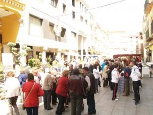Aspecto de la plaza del Mercado. JLP.