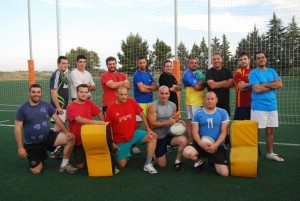 Integrantes del equipo Rugby Somontano. José Luis Pano.