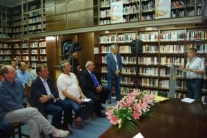 Navarro durante su intervención. JLP.