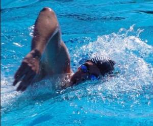 Nadador de Airon Club.