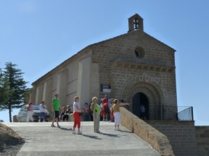En la ermita de la Bella. 