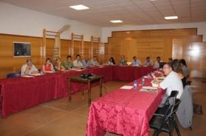 Reunión del patronato en Castillazuelo.