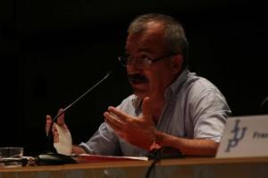 José Manuel Marraco en las Jornadas Universitarias de los Pirineos.