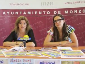 Marisa Mur y Elena Franco. JLP.