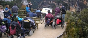 Mirador de los barrancos de Guara.