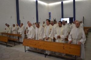 Los sacerdotes de la diócesis. JLP.