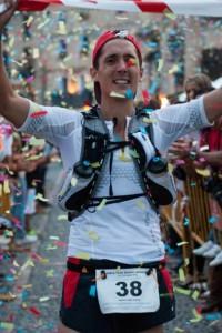 El vencedor de la Ultra Trail.