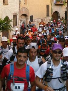 Los participantes en la Ultra Trail. Hugo Loriente.
