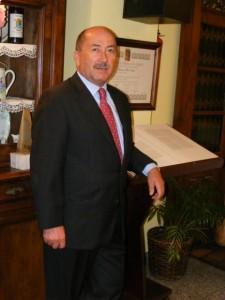 El hostelero José Antonio Pérez. SALAS.