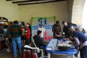 Recogida de firmas contra las canteras. JLP.