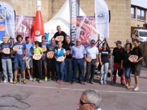 Todos los premiados de la Ultra Trail. Ángel Huguet.
