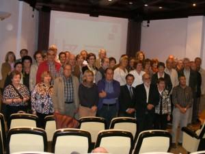 Alumnos de la Universidad de la Experiencia en Barbastro. Ángel Huguet.