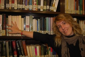 La escritora Chusa Garcés. Estela Puyuelo.