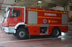 Parque de bomberos de Barbastro. JLP.
