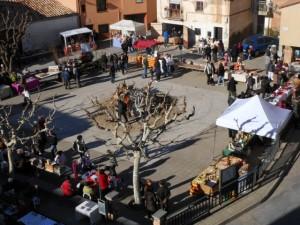 Mercado navideño de El Grado.