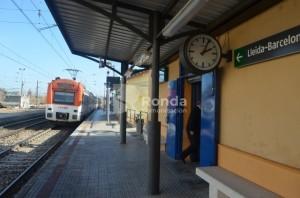 Estación Río Cinca de Monzón. JLP.