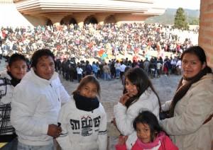 Encuentro de familias de Ecuador.