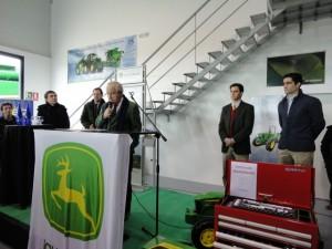 Inauguración de Lamusa en Binéfar.