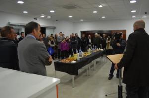 Inauguración de la nueva estación de servicio. JLP.