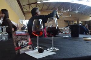 Maridaje perfecto entre trufa negra y los vinos de Estadilla. JLP.