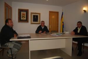 Sesión de pleno en Olvena. JLP.