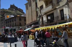 Mercado medieval. JLP.