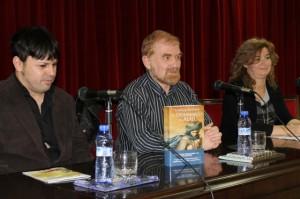 Óscar Sipán, Lorenzo Mediano y Marisa Mur. Miguel Hernández.