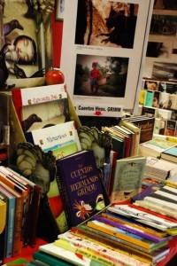 Librería Ibor de Barbastro, organizadora del concurso. Foto: Beni Ibor.