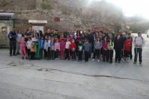 Los participantes en la excursión.