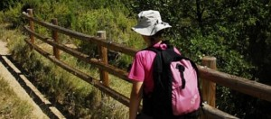 Un caminante por Guara.