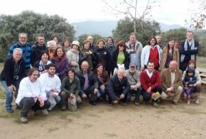 Participantes en las jornadas micológicas.
