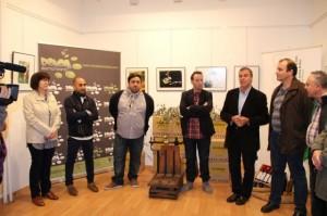 Inauguración de la exposición Fot-Oleo el pasado año. E.P.