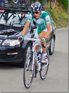Sergio Samitier en carrera.