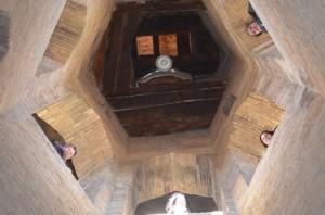 Interior de la torre de la catedral. JLP.