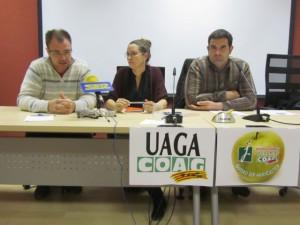 Solano, Lisa y Urgeles. JLP.
