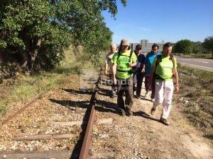 IV marcha por la Vía Verde de Barbastro. Ronda Somontano.