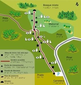 Mapa general senderos_PRAMES