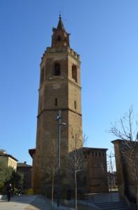 Torre de la Catedral de Barbastro. JLP.