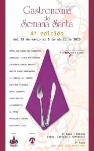 Gastronomia Semana Santa 2015 cartel