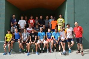 Participantes en el torneo
