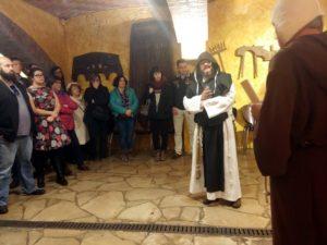 RondaSomontano_visita teatralizada Bodega Pirineos Origenes del Vino Somontano