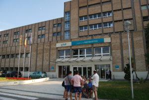 Hospital de Barbastro. Ronda Somontano.