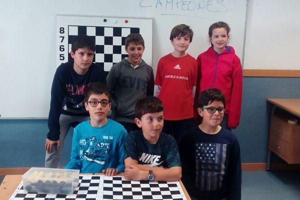 SMA Barbastro C ajedrez.RondaSomontano.