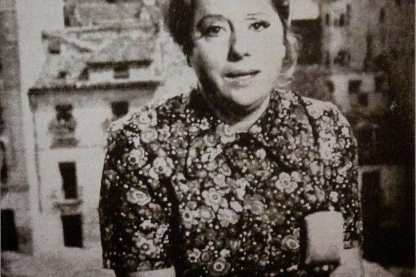 Maruja Callaved, en el congreso Hecho en los Pirineos de Huesca_Ronda Somontano.