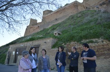Ciudadanos en el Castillo de Monzón_RondaSomontano.