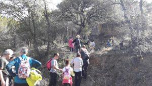 Senderismo Infantil Montañeros de Aragón Barbastro.