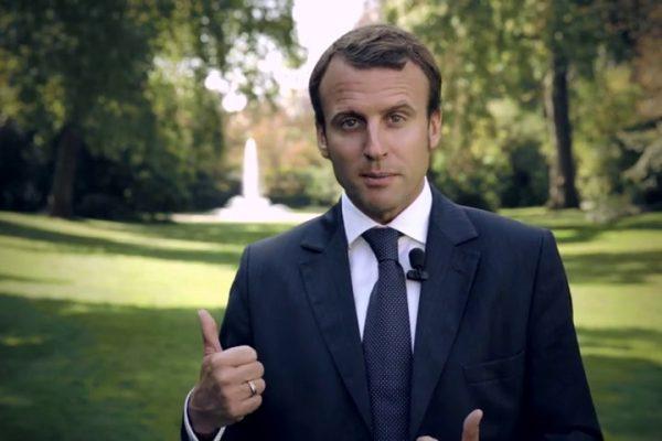 Emmanuel Macron. Ronda Somontano.