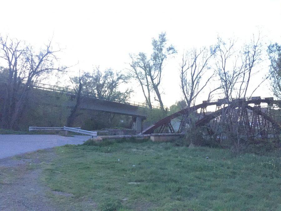 Puente de Santa Fe de Barbastro.RondaSomontano.