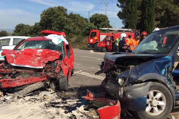 Accidente Berbegal