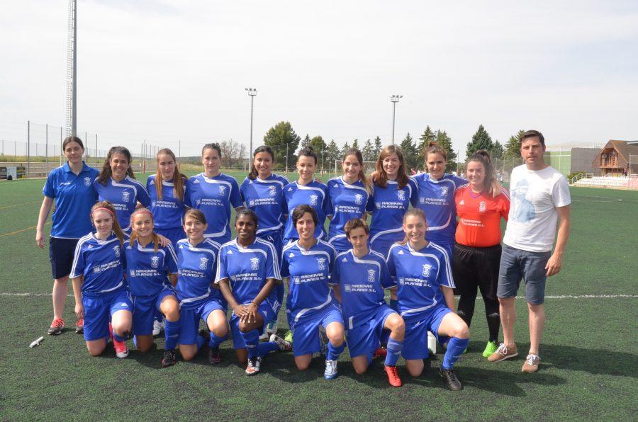 Peña Ferranca Barbastro fútbol femenino. Ronda Somontano.